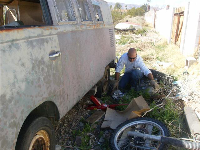 67 EZ Camper rescue