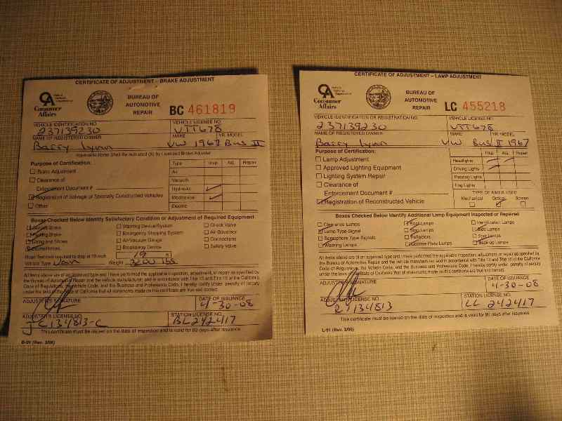 Dmv Brake And Light Inspection | Iron Blog