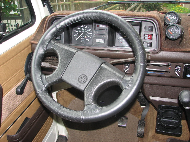 Steering wheel from a '91 GTI