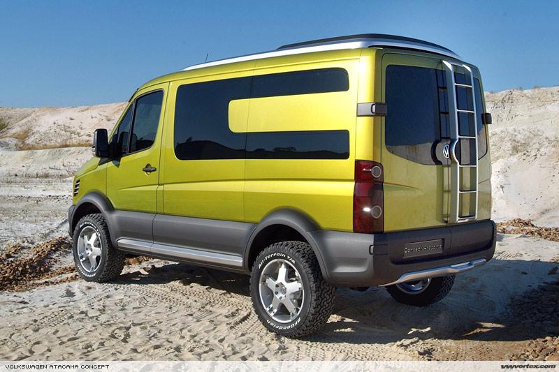 TheSamba com :: Vanagon - View topic - New 4x4 VW Van