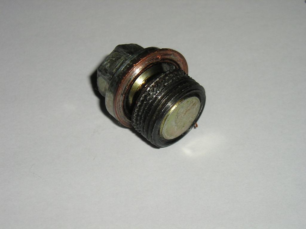 Drain Plug w/ insert