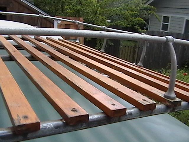 Thesamba Com Gallery Roof Rack Wood