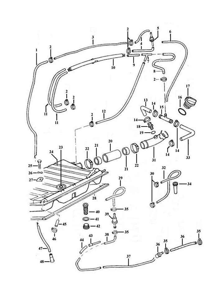 Vw Beetle Fuel System Diagram