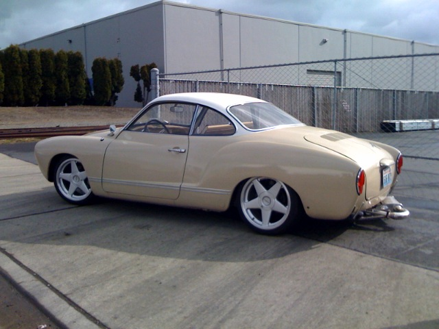The Ghia is mechanically done