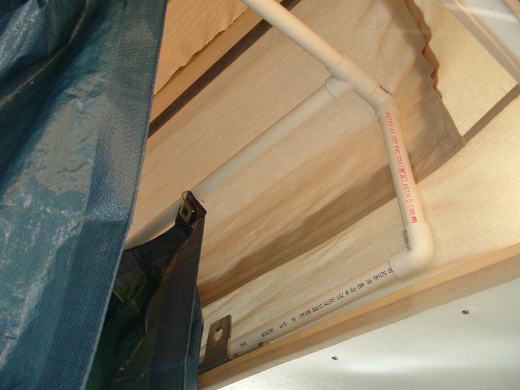 Vanagon Shower Frame 2