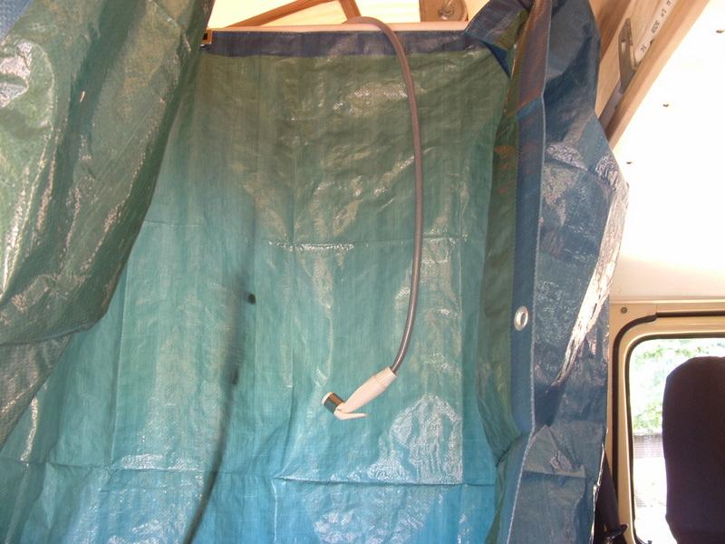 Vanagon Interior Shower Frame