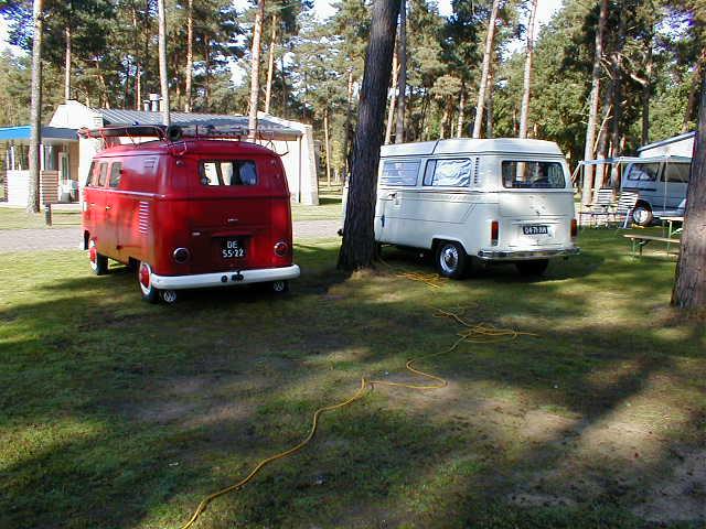 Fire truck & Camper