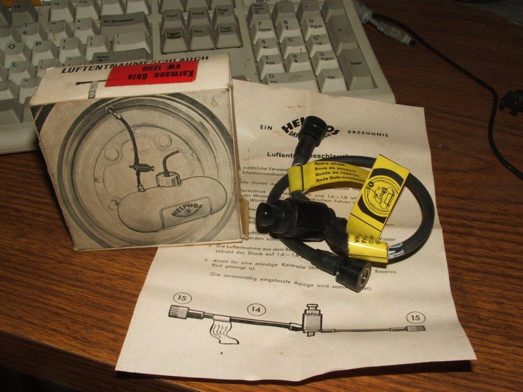Helphos washer valve