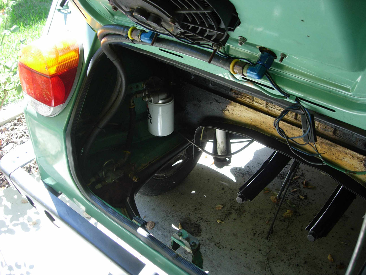 1973 Thing Engine Rebuild