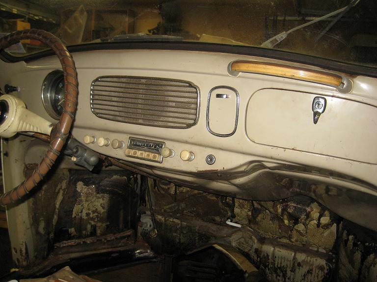 original paint '55 dashboard