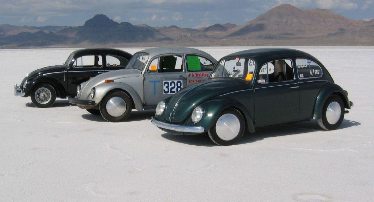 Bonneville VW race cars