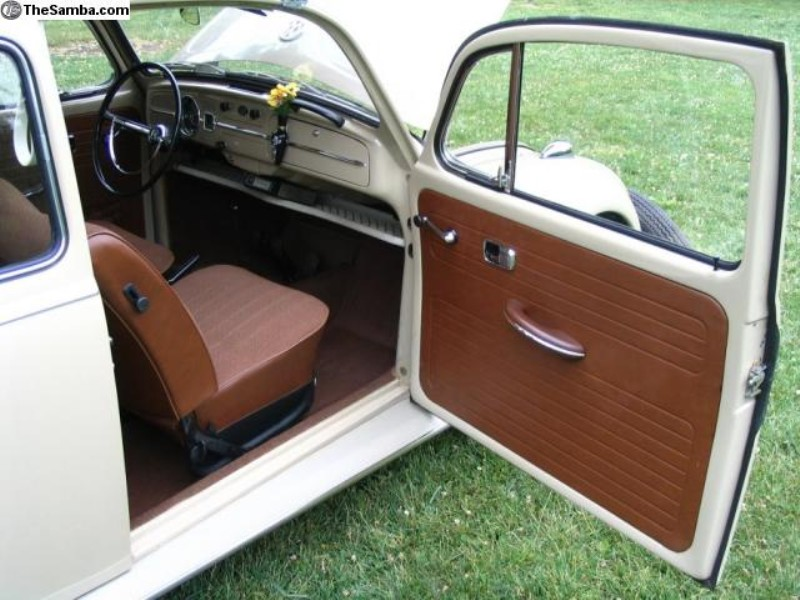 interior a beetle vw t bug autostyle leather