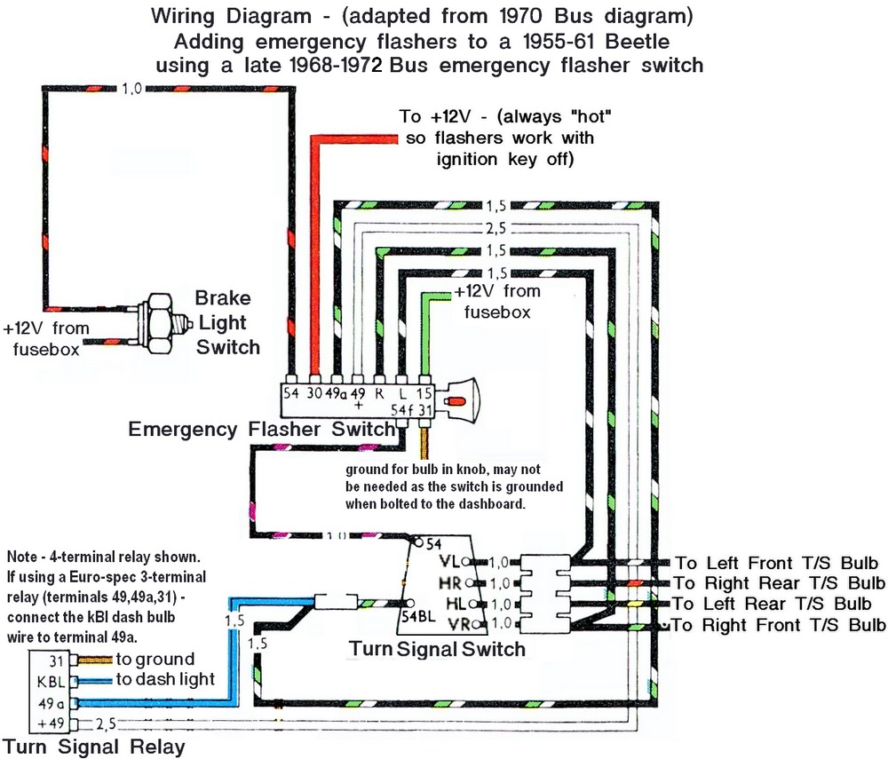 67 beetle flasher relay wiring diagram wiring diagrams com beetle 1958 1967 view topic early bug late image may have been reduced in size click image to view fullscreen that diagram at blinker relay wiring asfbconference2016