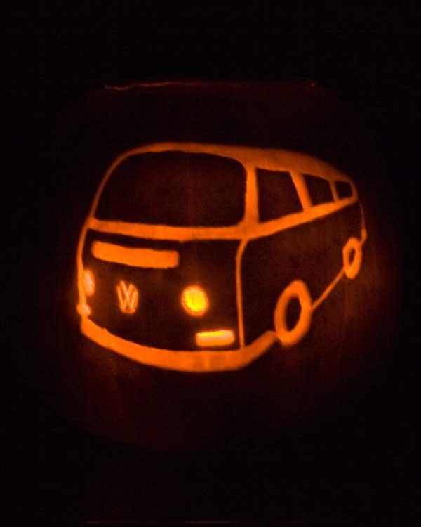 Bus Pumpkin
