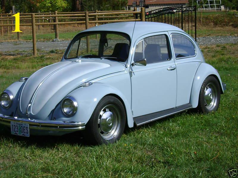 Thesamba Com Gallery Stolen 1968 Volkswagen Beetle Automatic