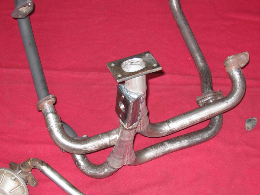 Turbo exhaust with paired headers