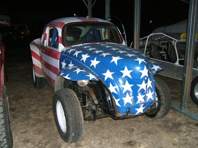 stars and stripes baja bug