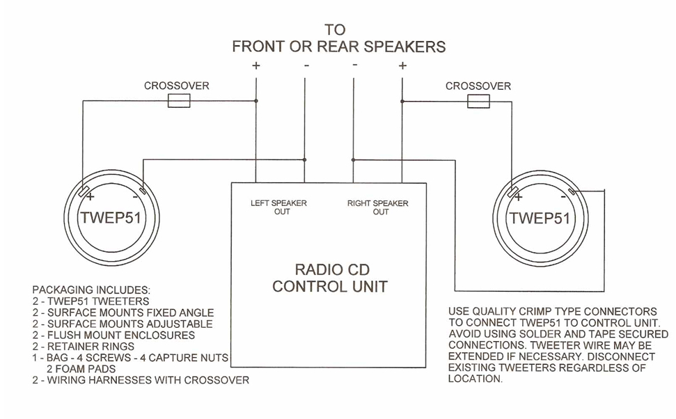 511696 speaker bass blocker wiring diagram wiring diagram and schematics 2-Way Speaker Crossover Circuit at mifinder.co