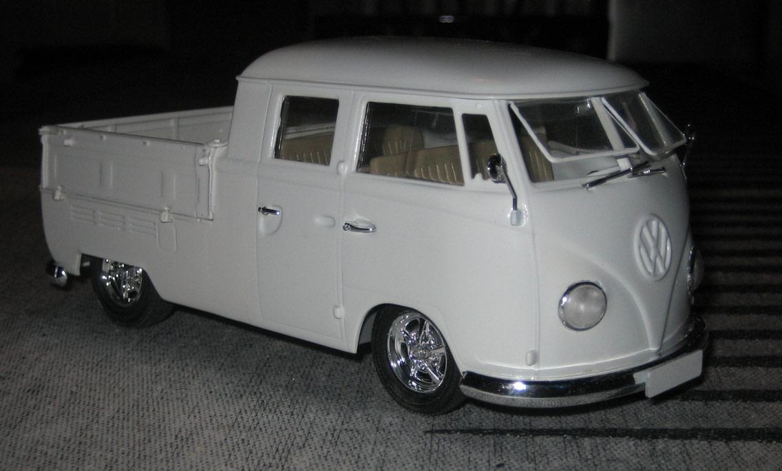 Plastic Model 1 24 Vw Double Cab 1967