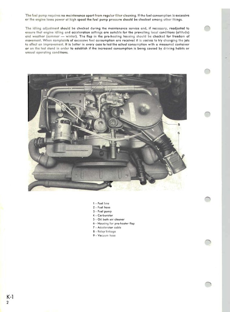 Early T-3 engine