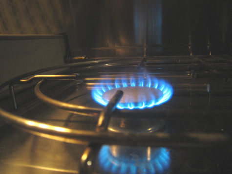 stove flame