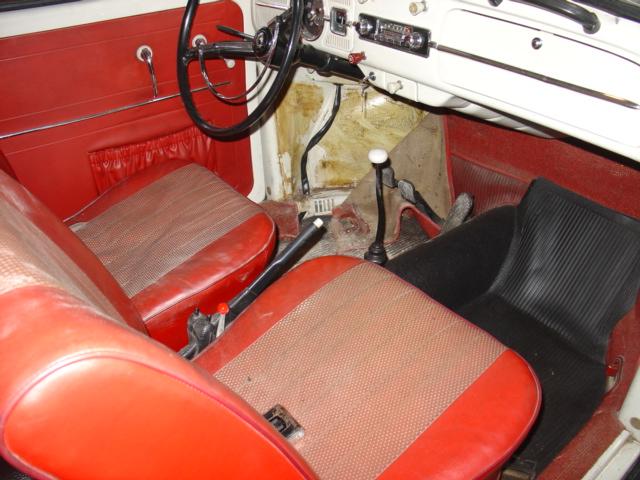 '66 Beetle Interior