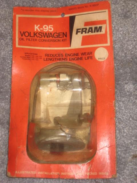 FRAM K-95 oil filter kit