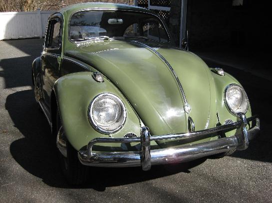 1959 Beetle L14 Mignonette Green