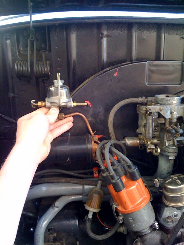[DIAGRAM_34OR]  TheSamba.com :: Ghia - View topic - Fuel filter placement | Vw Fuel Filter Location |  | The Samba