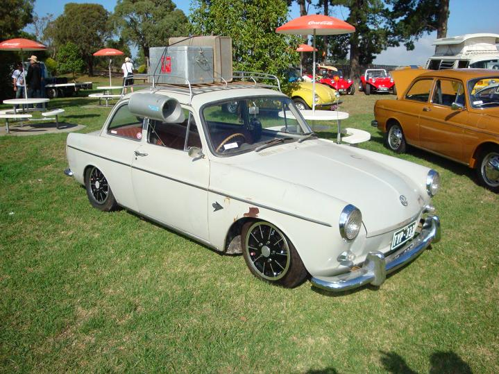 Australian 1965 1500s Notch with Magnesium Gasburners.