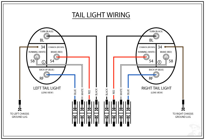 wire diagram for tail lights 79 cj7 wiring diagram for tail lights