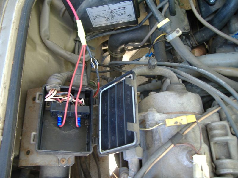 thesamba com vanagon view topic dead van diagnostic tools rh thesamba com Vanagon Relays Identified 1985 vw vanagon fuel pump relay location