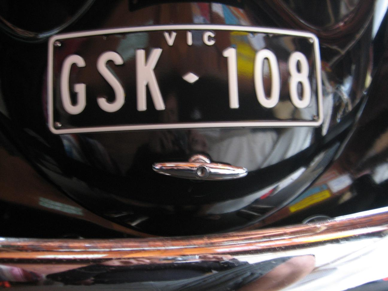 New Australian issued 50's style plates