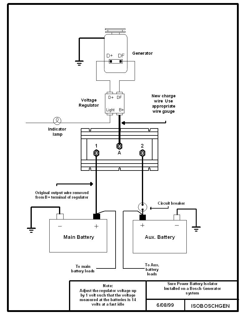 multi battery isolator wiring diagram   37 wiring diagram