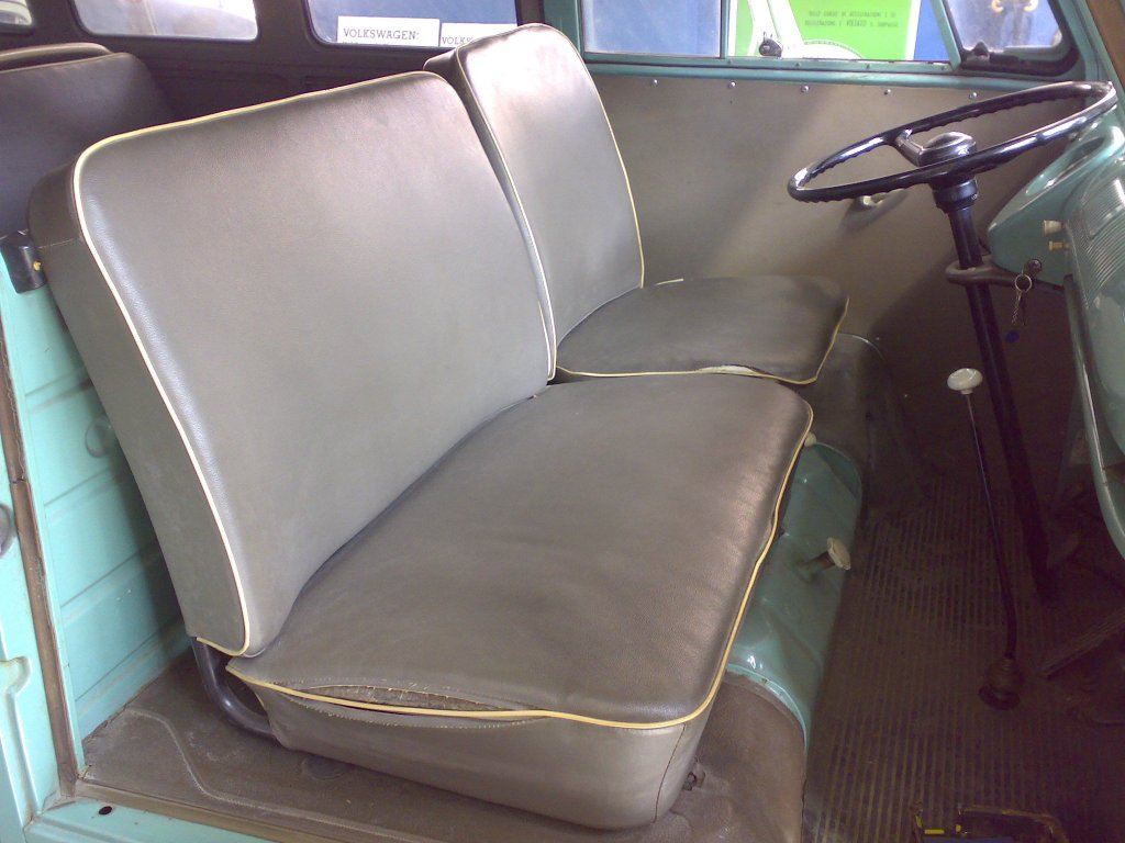 1964 Kombi front seats
