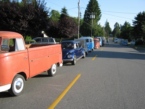 camping at autopia vintage weekend 09