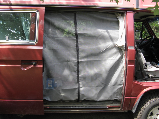 Thesamba Com Vanagon View Topic Sliding Door Screen