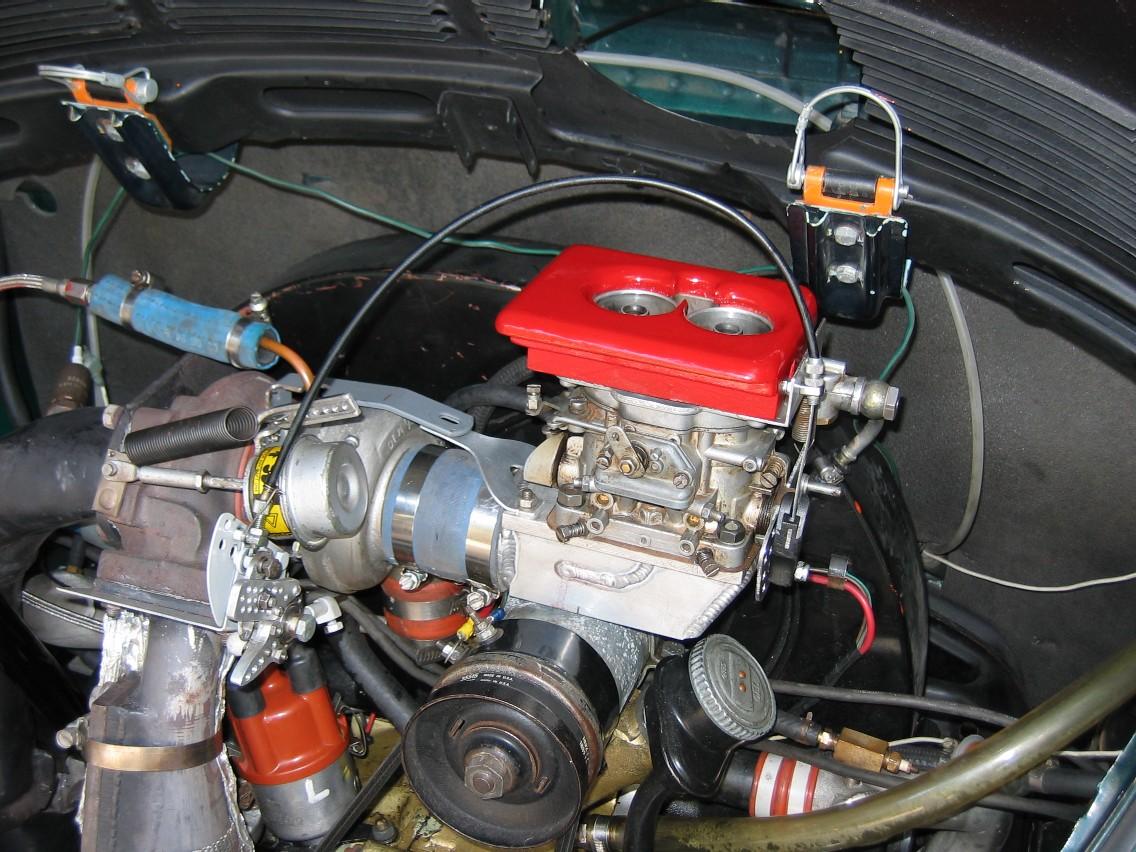 Weber DCNF on turbo 36hp Challenge Motor