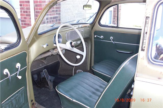 Diamond Green Beetle - original interior