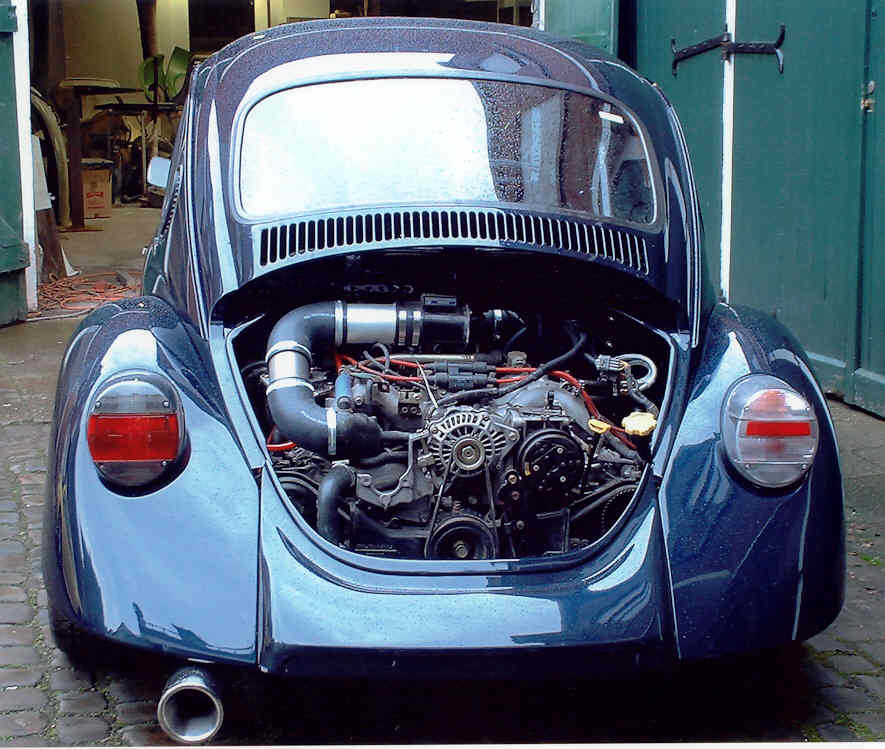 Scoob Engine In A Classic Vw Beetle    - Scoobynet Com