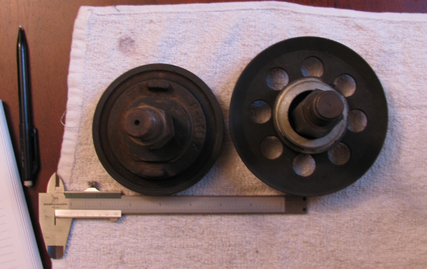 A/C pulleys for the Type III