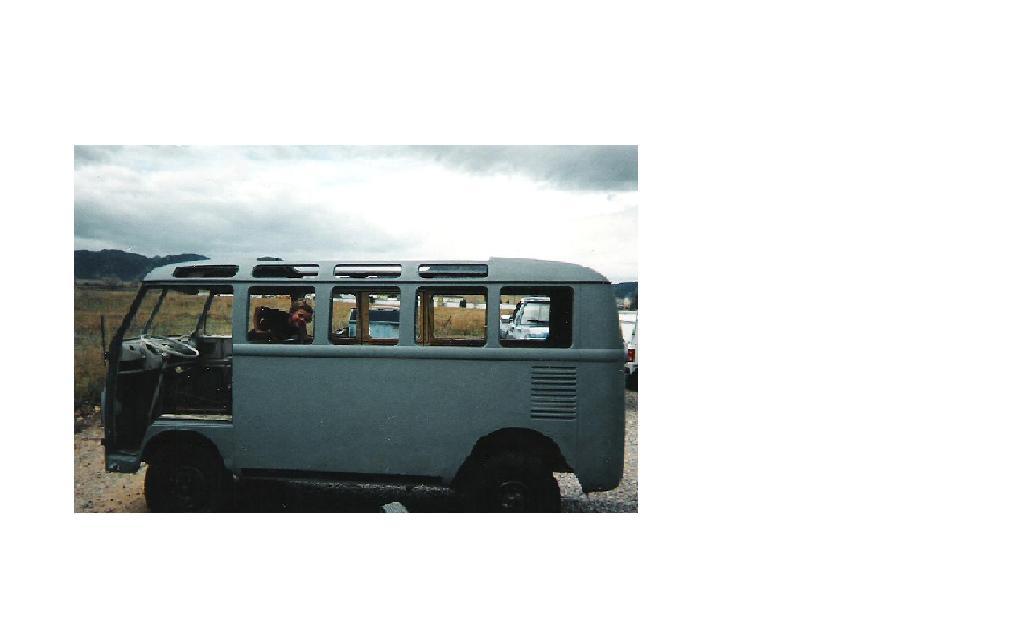 1964 bus before restoration