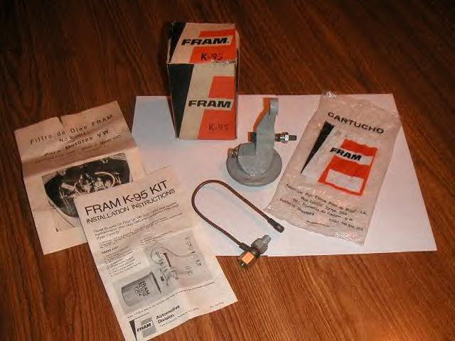 NOS Fram oil filter kit