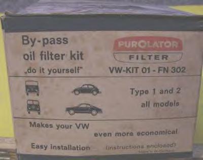NOS PurOlator oil filter kit