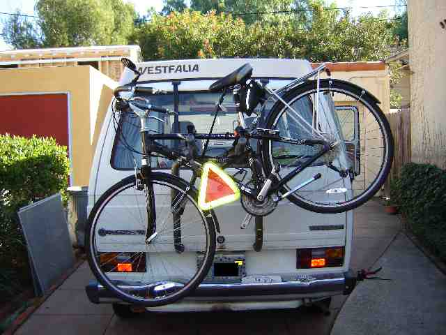 Vanagon View Topic A Great Bicycle Rack Option