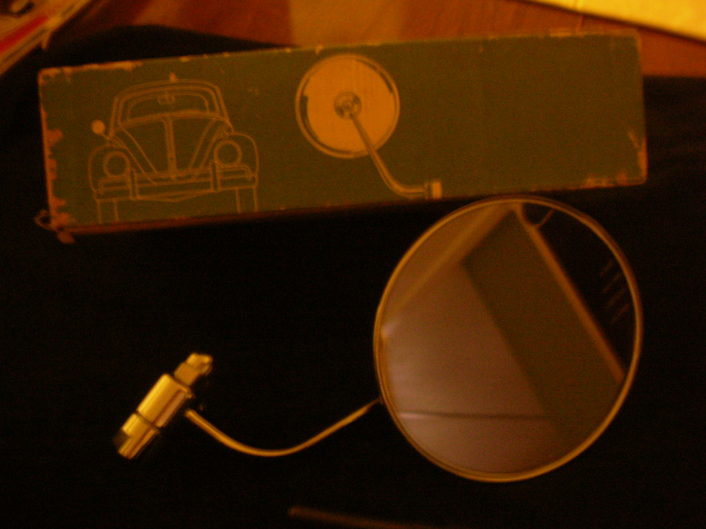 NOS Volkswagen Of America Right hand drive mirror