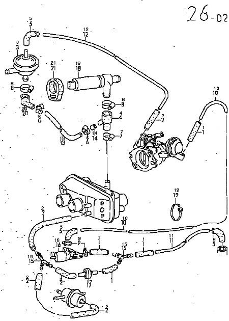 Vanagon Engine Compartment Parts Diagram