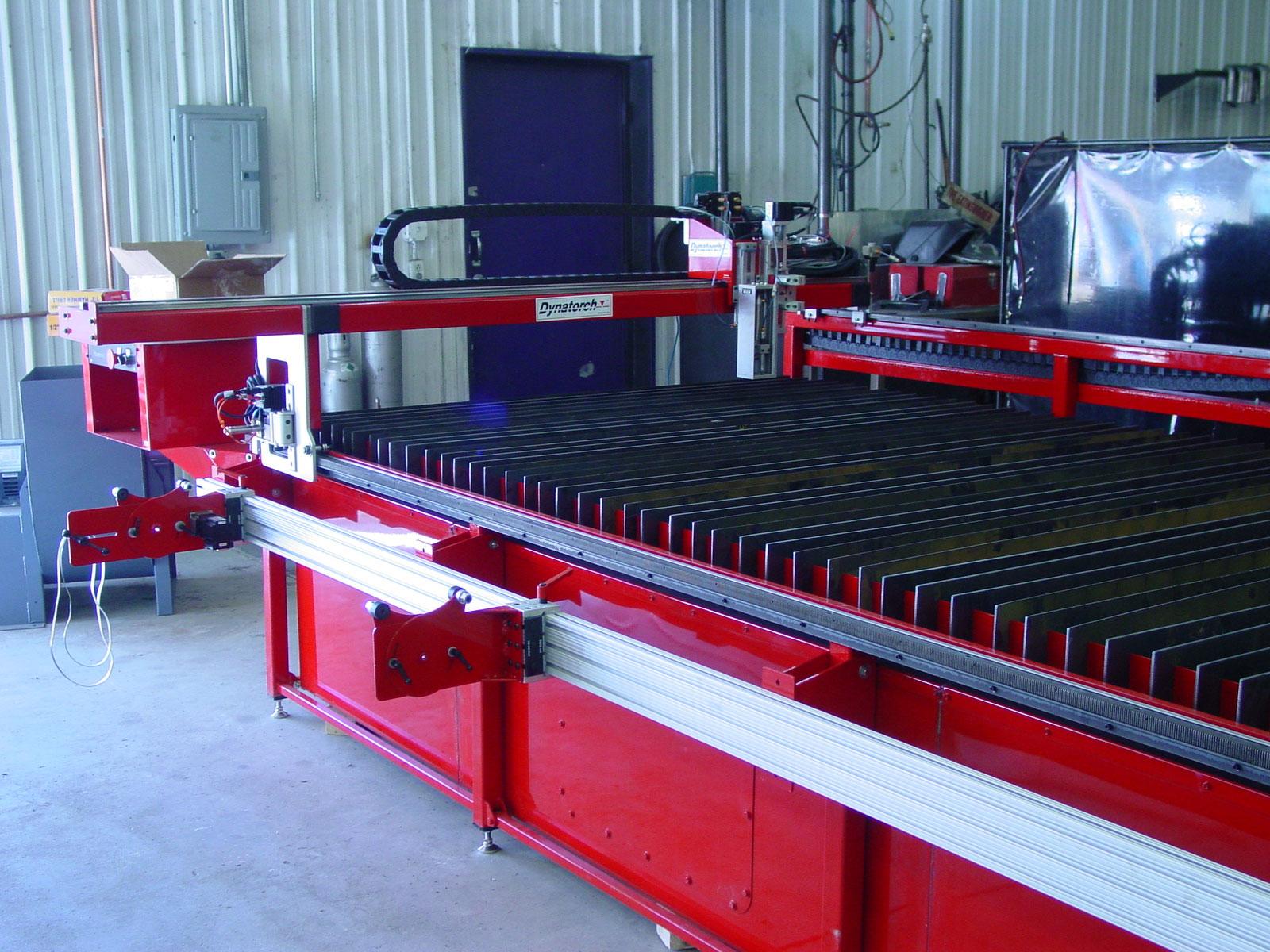 Rocky Mountain Westy's new DynaTorch CNC plasma table