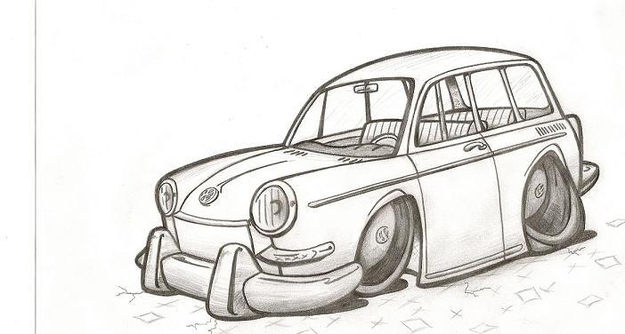 Squareback drawing
