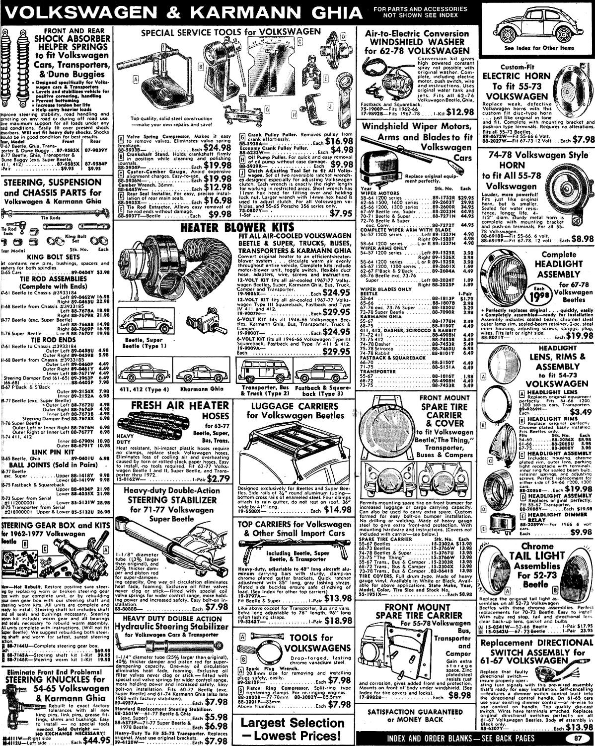 List of Synonyms and Antonyms of the Word: Jcwhitney Catalog